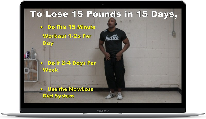 Adrian Bryant's Lose 15 Lbs. in 15 Days Workout